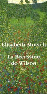 elisabeth motsch la bécassine de wilson
