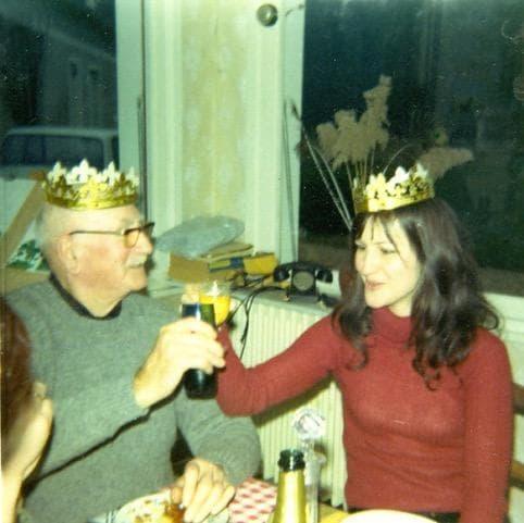 Elisabeth Motsch avec le Grand-Père