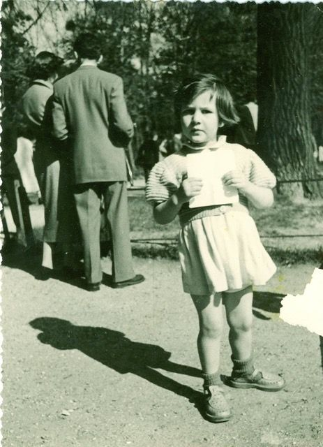 Elisabeth Motsch petite fille